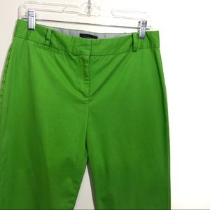 Talbots Pants - Talbots lime green signature cropped tapered pants